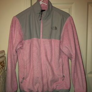Girls XL North Face Fleece Jacket